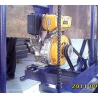 Ленточная пилорама «КЕДР-4Д» с электростартером